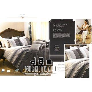 ชุดผ้าปูที่นอน SATIN รุ่น PC016