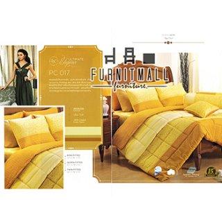 ชุดผ้าปูที่นอน SATIN รุ่น PC017