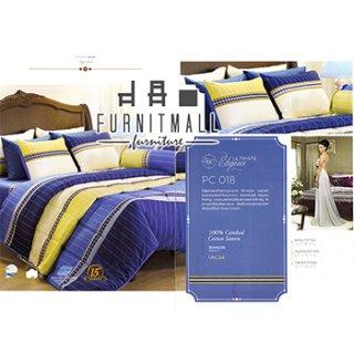 ชุดผ้าปูที่นอน SATIN รุ่น PC018