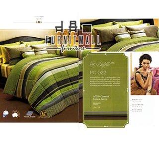 ชุดผ้าปูที่นอน SATIN รุ่น PC022
