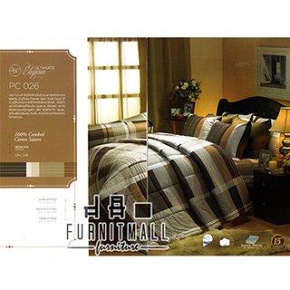 ชุดผ้าปูที่นอน SATIN รุ่น PC026