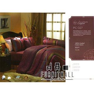 ชุดผ้าปูที่นอน SATIN รุ่น PC027