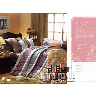 ชุดผ้าปูที่นอน SATIN รุ่น PC028