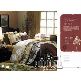 ชุดผ้าปูที่นอน SATIN รุ่น PC029