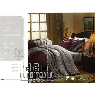 ชุดผ้าปูที่นอน SATIN รุ่น PC030