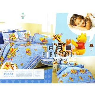 ชุดผ้าปูที่นอน SATIN ลายการ์ตูนรุ่น PK004