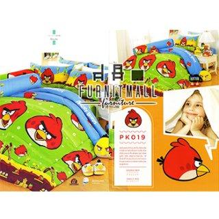 ชุดผ้าปูที่นอน SATIN ลายการ์ตูนรุ่น PK019