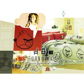 ชุดผ้าปูที่นอน SATIN ลายการ์ตูน รุ่น PK026