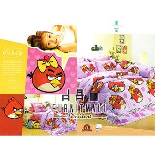ชุดผ้าปูที่นอน SATIN ลายการ์ตูน รุ่น PK028