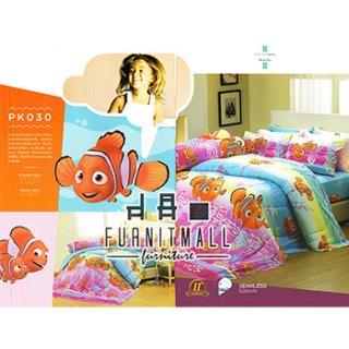 ชุดผ้าปูที่นอน SATIN ลายการ์ตูน รุ่น PK030