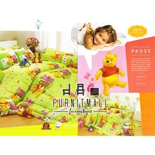 ชุดผ้าปูที่นอน SATIN ลายการ์ตูน รุ่น PK035