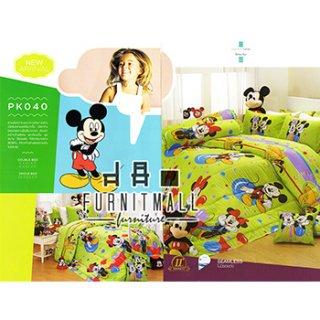 ชุดผ้าปูที่นอน SATIN ลายการ์ตูน รุ่น PK040