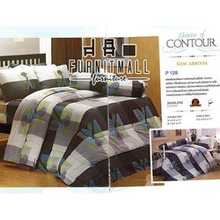 ชุดผ้าปูที่นอน SATIN รุ่น P128