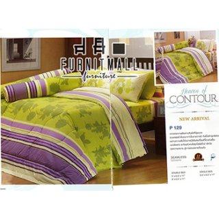 ชุดผ้าปูที่นอน SATIN รุ่น P129