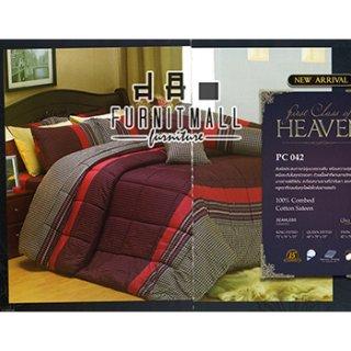 ชุดผ้าปูที่นอน SATIN รุ่น PC042