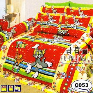 ชุดผ้าปูที่นอน SATIN ลายการ์ตูน รุ่น C053