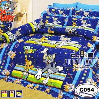 ชุดผ้าปูที่นอน SATIN ลายการ์ตูน รุ่น C054