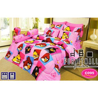 ชุดผ้าปูที่นอน SATIN ลายการ์ตูน รุ่น C095