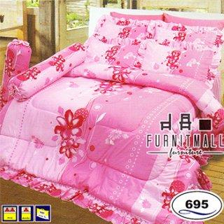 ชุดผ้าปูที่นอน SATIN รุ่น 695