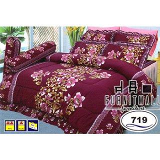 ชุดผ้าปูที่นอน SATIN รุ่น 719