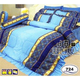 ชุดผ้าปูที่นอน SATIN รุ่น 724