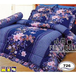 ชุดผ้าปูที่นอน SATIN รุ่น 726