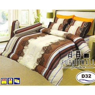 ชุดผ้าปูที่นอน SATIN รุ่น D32