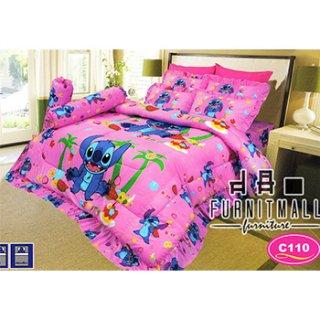 ชุดผ้าปูที่นอน SATIN ลายการ์ตูน รุ่น C110