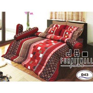 ชุดผ้าปูที่นอน SATIN รุ่น D43
