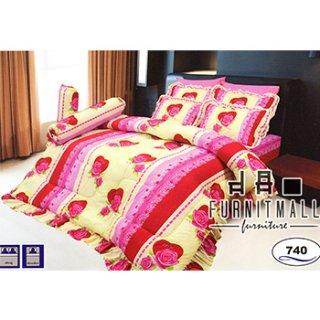 ชุดผ้าปูที่นอน SATIN รุ่น 740