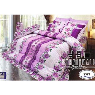 ชุดผ้าปูที่นอน SATIN รุ่น 741