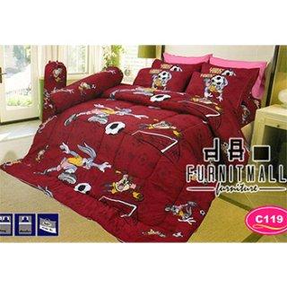 ชุดผ้าปูที่นอน SATIN รุ่น C119