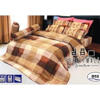 ชุดผ้าปูที่นอน SATIN รุ่น D52
