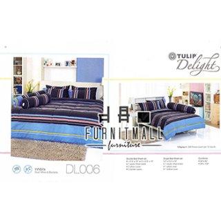 ชุดผ้าปูที่นอน TULIP รุ่น DL006