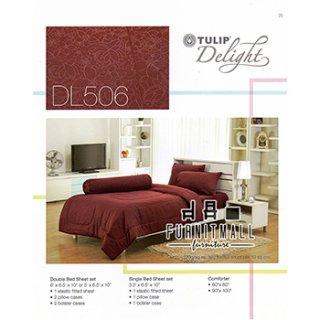 ชุดผ้าปูที่นอน TULIP รุ่น DL506