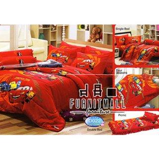 ชุดผ้าปูที่นอน TULIP ลายการ์ตูน รุ่น D022