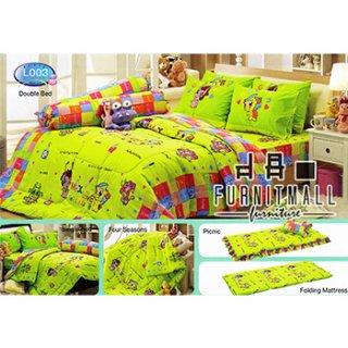ชุดผ้าปูที่นอน TULIP ลายการ์ตูน รุ่น L003