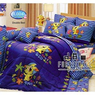 ชุดผ้าปูที่นอน TULIP ลายการ์ตูน รุ่น L004