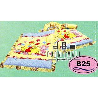 ชุดผ้าปูที่นอน SATIN BABY รุ่น B25