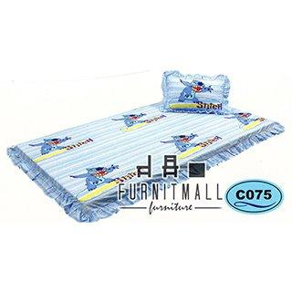 ชุดผ้าปูที่นอน SATIN 3FOLD รุ่น C075