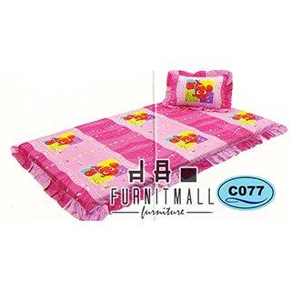 ชุดผ้าปูที่นอน SATIN 3FOLD รุ่น C077