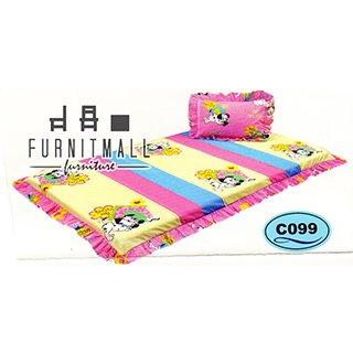 ชุดผ้าปูที่นอน SATIN PICNIC รุ่น C099
