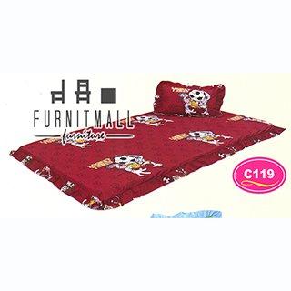 ชุดผ้าปูที่นอน SATIN PICNIC รุ่น C119