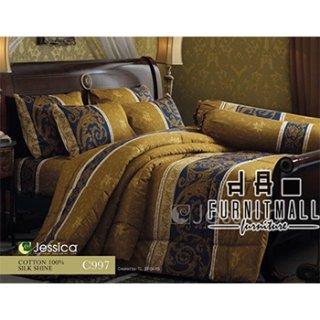 ชุดผ้าปูที่นอน Jessica รุ่น C997