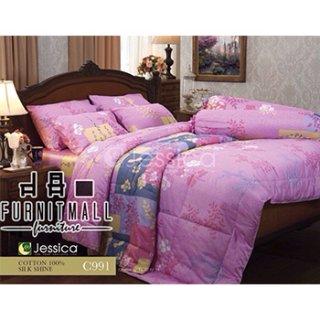 ชุดผ้าปูที่นอน Jessica รุ่น C991