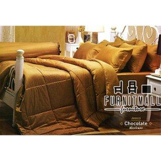 ชุดผ้าปูที่นอน Jessica รุ่น Chocolate