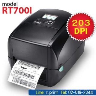 เครื่องพิมพ์บาร์โค้ด Godex RT700I