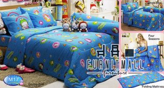 ชุดผ้าปูที่นอน TULIP ลายการ์ตูน รุ่น M17