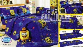 ชุดผ้าปูที่นอน TULIP ลายการ์ตูน รุ่น S006