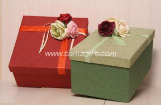 กล่องของขวัญผ้าไหม
